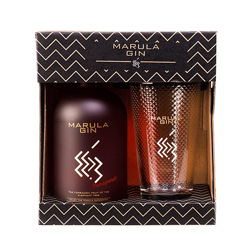Marula Pomegranate giftbox - Ginsonline