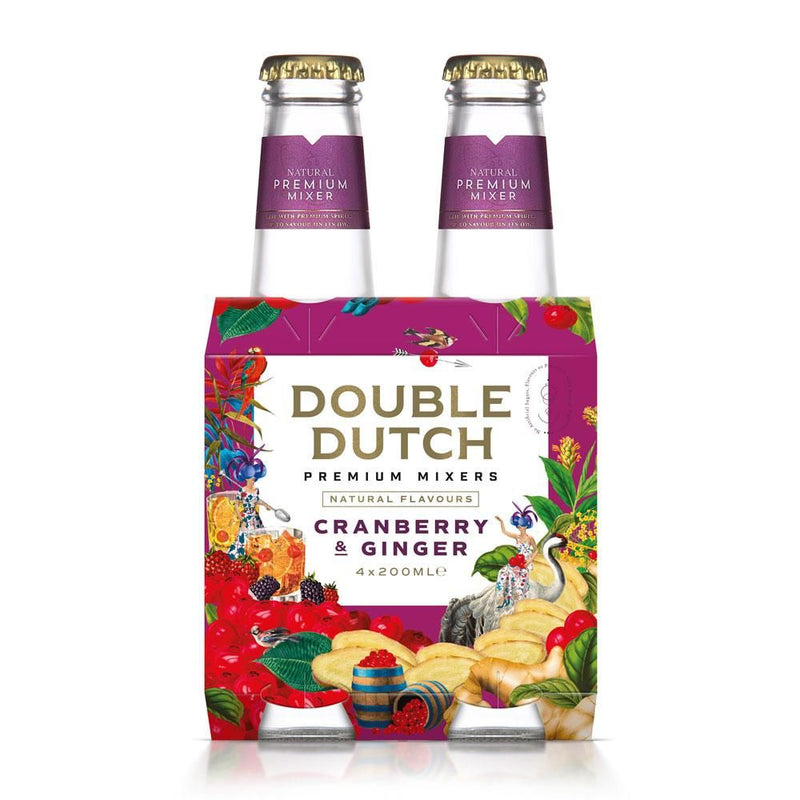 Double Dutch Cranberry & Ginger 4-pack