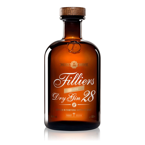Filliers Dry Gin 28 46° 50cl - Ginsonline - Gin