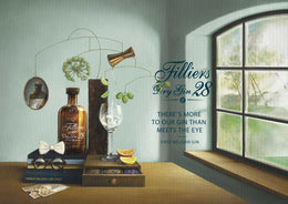Filliers Dry Gin 28 46 ° 50cl-Ginsonline