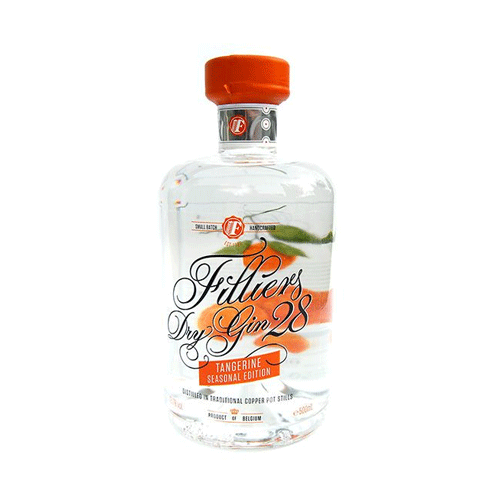 Filliers Tangerine Gin 46° 50Cl - Ginsonline - Gin