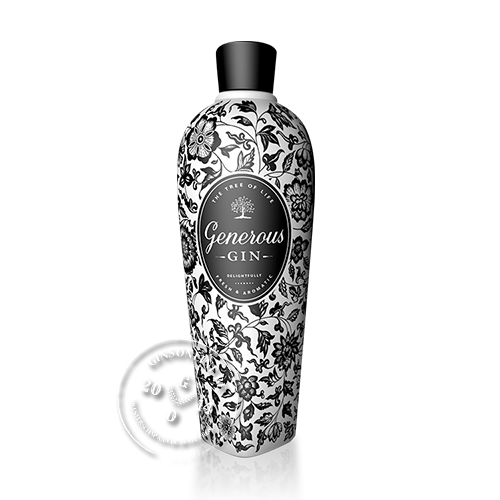 Generous Gin 40° 70 Cl - Ginsonline