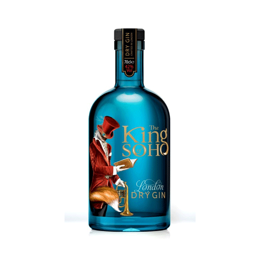 The King Of Soho Gin 42° 70cl - Ginsonline