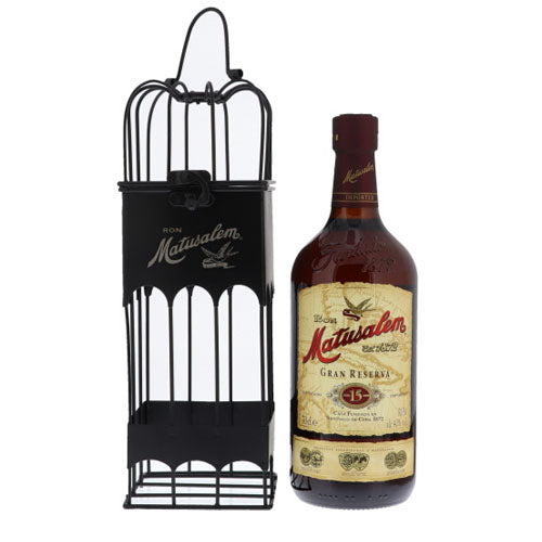 Matusalem 15 Years Bird Cage 40° 0.7L