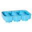 support de bloc de glace Gin Ball in Six Blue D4,5 18 x 12,6 x 4,8 cm-Ginsonline