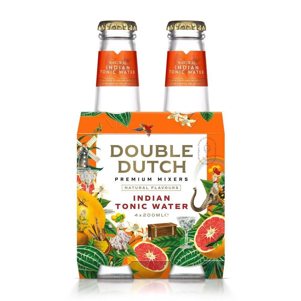 Double Dutch Indian Tonic 4-pack