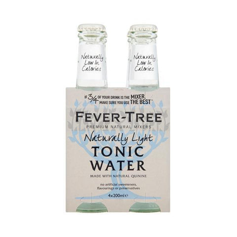 Fever Tree Light 20 Cl 4-Pack - Ginsonline - Tonic