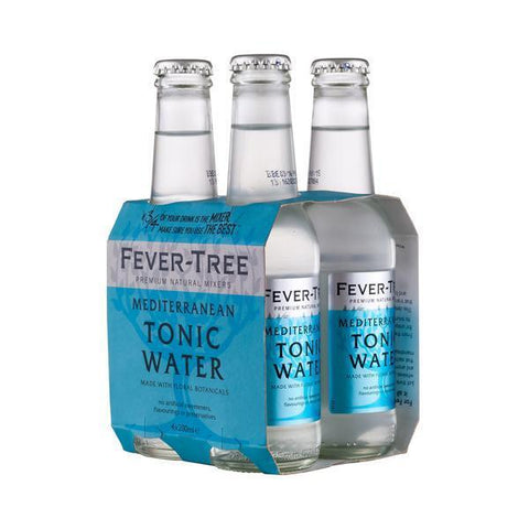 Fever-Tree Mediterranean 20 Cl 4-Pack - Ginsonline - Tonic
