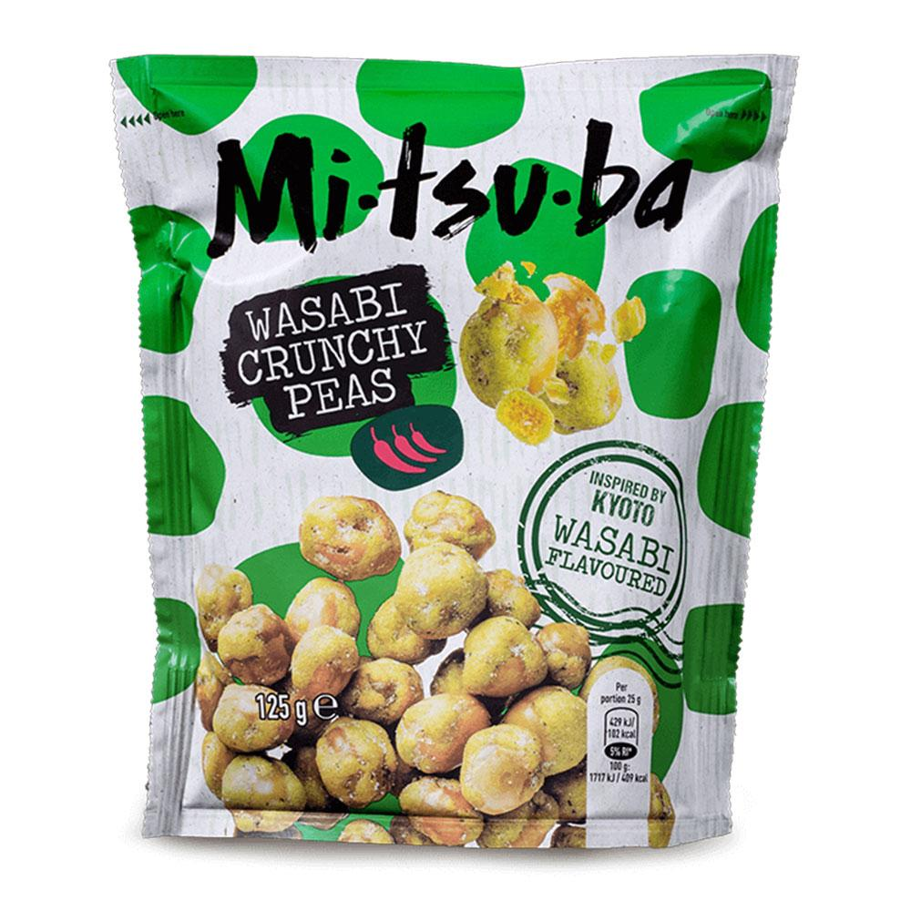 Pois Croquants Wasabi 125g