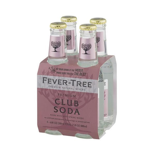 Fever-Tree Soda Water 20 Cl 4-Pack-Ginsonline