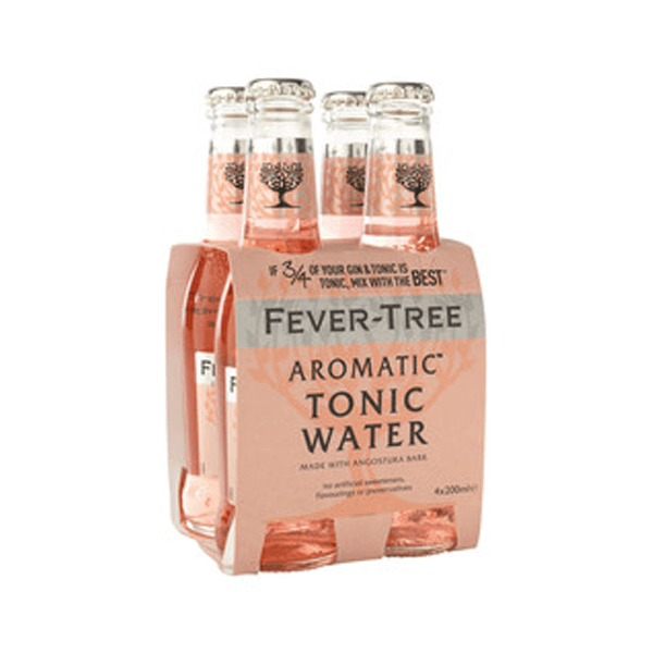 Fever-Tree Aromatic Tonic Water 20 Cl 4-Pack - Ginsonline - Tonic