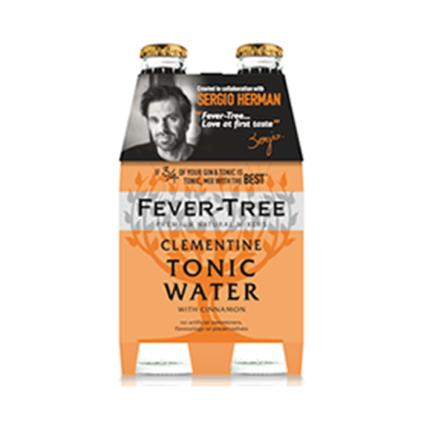 Fever-Tree Tonic Clementines & Cinnamon 20 Cl 4-Pack-Ginsonline