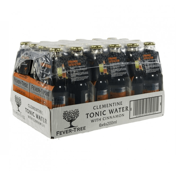 Fever-Tree Tonic Clémentines & Cannelle 20cl (24 pièces) | Fever-Tree Tonic Clémentines & Cannelle 20cl (pièces) -Ginsonline