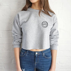 Fashion Long Sleeve Round Neck Top Sweater