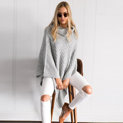 Fashion Long Sleeve Knit Top Sweater