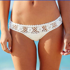 Fashion Knit Halter Beach Bikini Swimsuit Swimwear