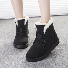Round Toe Snow Boots Cotton Boots Shoes