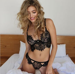 Lace Solid Color Underwear Lingerie Suit