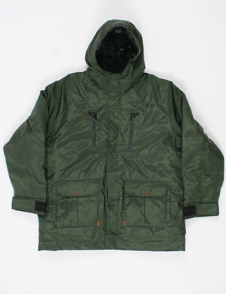 Mens Rocawear Mens Spring Winter Parka Styled Coat Jacket XL: : xL