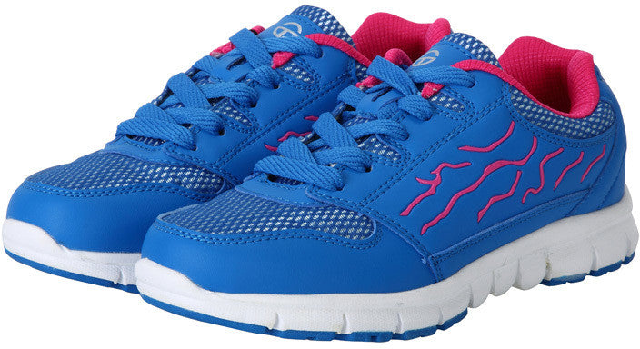 Women's Running Shoe - Hot Pink/Royal Blue/White Case Pack 7