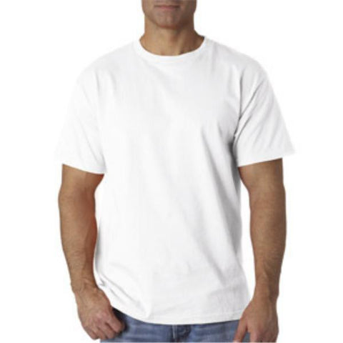 Men White T-Shirt Clothing Case Pack 24