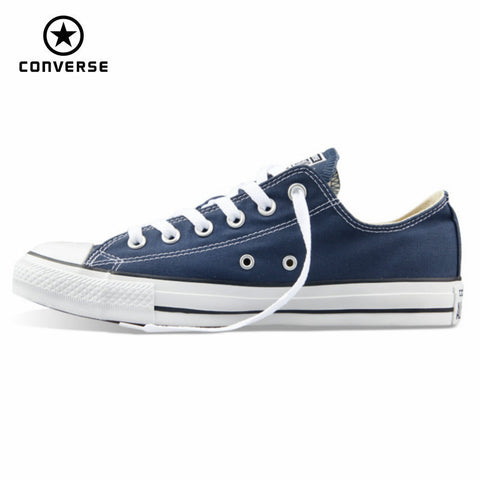 Original Converse all star canvas sneakers for men low classic Skateboarding free shipping