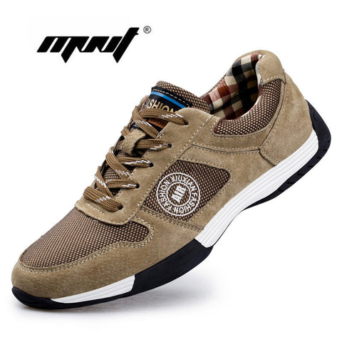 Genuine Leather with Men Casual, Leather Shoes, Quality Outdoor Men Zapatos Hombre