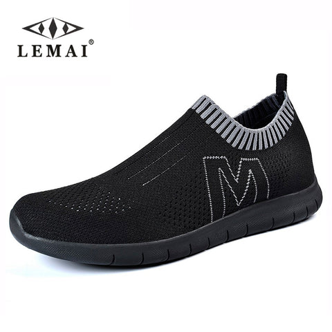 LEMAI Men Loafer Creepers Casual Shoes