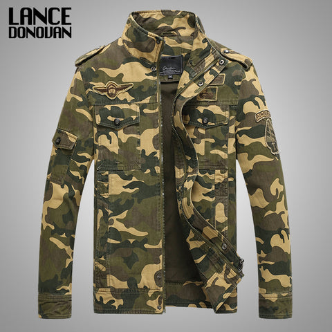 Military jacket men camouflage bomber Jackets