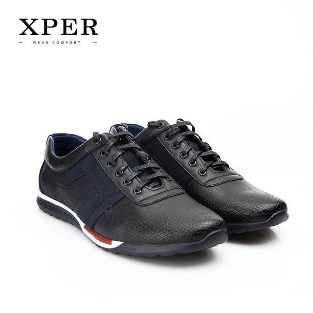 XPER Spring New Men Shoes Fashion Casual Shoes Sporty Walking Shoes