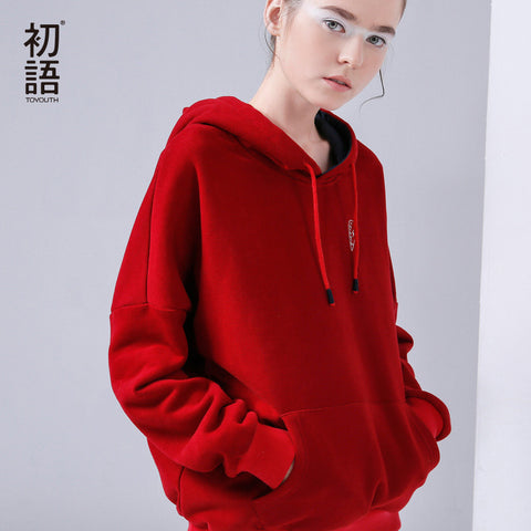 Toyouth Hoodies Sweatshirt