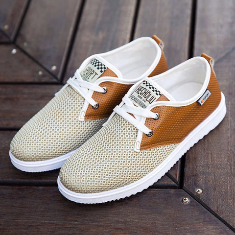 Casual Shoes Fashion Chaussure Homme Soft Zapatos Hombre Summer Men Cool