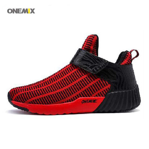 Men's Running Athletic Lightweight Breathable Sneakers High Top Outdoor Shoes