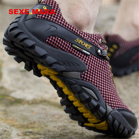 2017 Outdoor Sport Sneakers men Brand Anti-skid Off-road Jogging Walking
