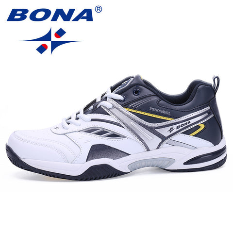 BONA Classics Tennis Lace Up Sport Top Quality Male Sneakers