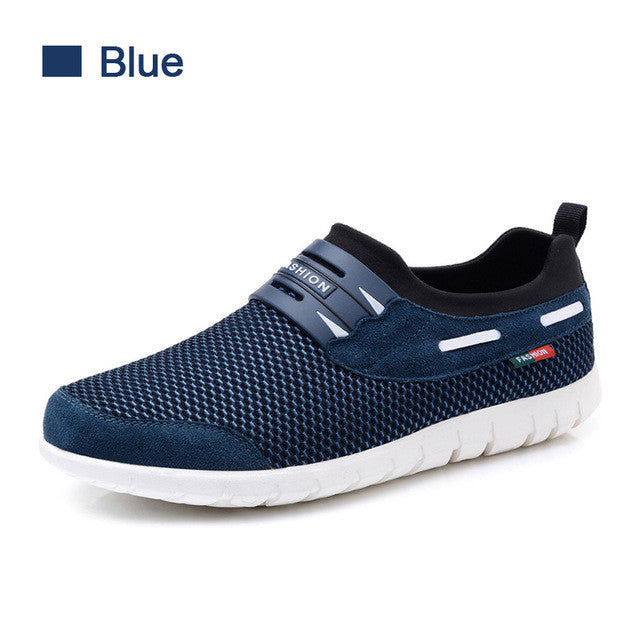 SUROM Mesh Comfortable Male Shoes
