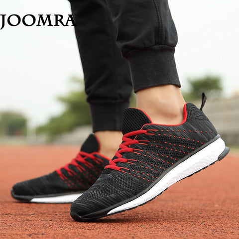 Joomra Top Quality Flywire Light Running Men Sneakers breathable mesh outdoor athletic shoes