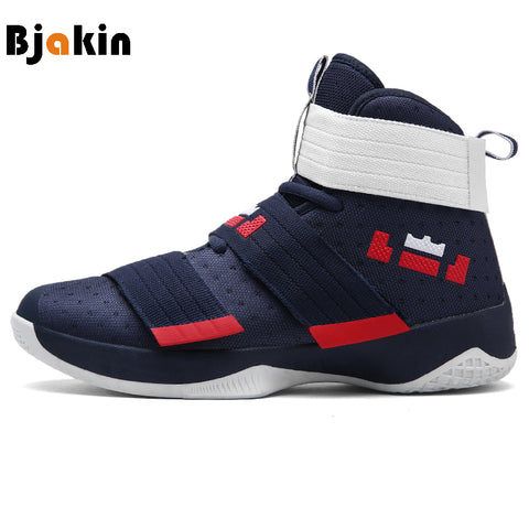 Bjakin Men Basketball Shoes for Female Couple Anti-Slip Court Sneakers