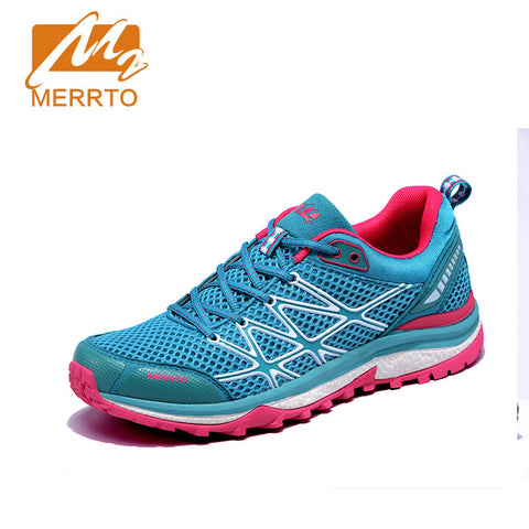 Merrto Trail Running Lightweight Sneakers Breathable For Women