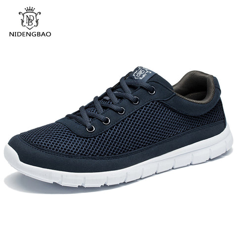 Casual Lace-Up Walking Shoes Spring Lightweight Comfortable Walking Men Shoes
