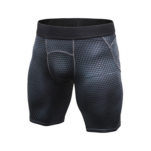 YD Tights Men Short Sport Leggings Compression Short Training Sports Shorts