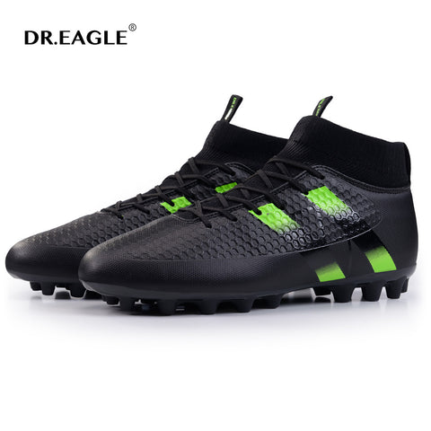 DR.EAGLE spike football shoes men original cleats futzalki