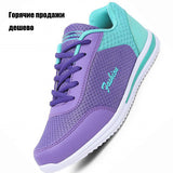 New Femme Zapato Women Mesh Zapatillas  Network Soft Casual Shoes
