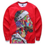 [Andy] Men's 3d sweatshirts print basketball sports hoodies long sleeve tops pullovers