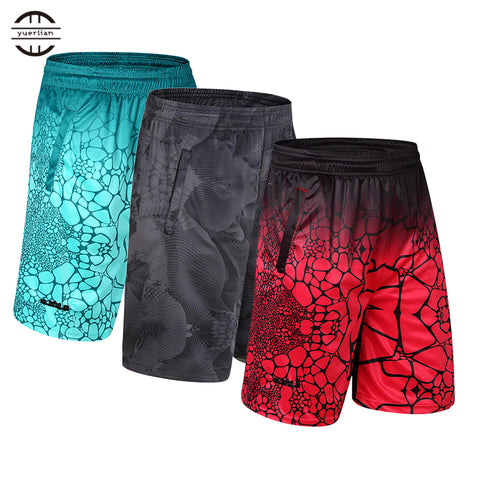 2017 New Elastic Pocket Jersey Basket Sportswear Men Basketball Shorts
