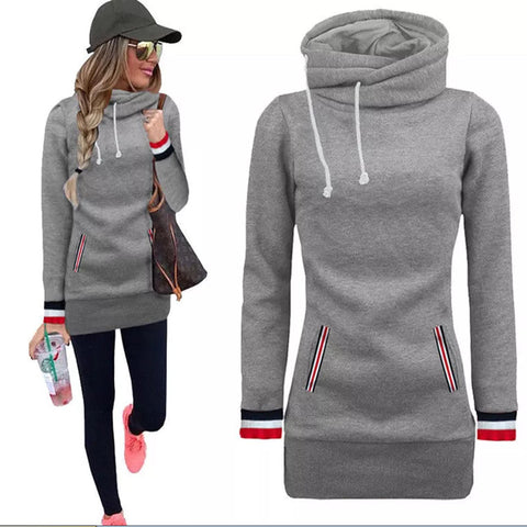 2017 New Women Outdoor Sports Training Pullover Hoodie