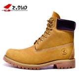 Genuine Men Ankle New England Martin Shoes Men Autumn And Winter Men Boots