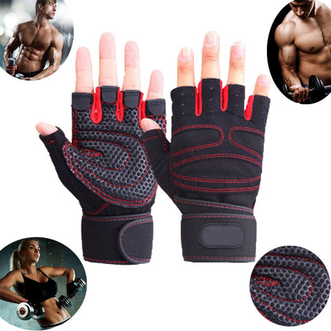 Gym Body Building WeightLifting Gloves For Men And Women Custom Exercise Training Gym Gloves