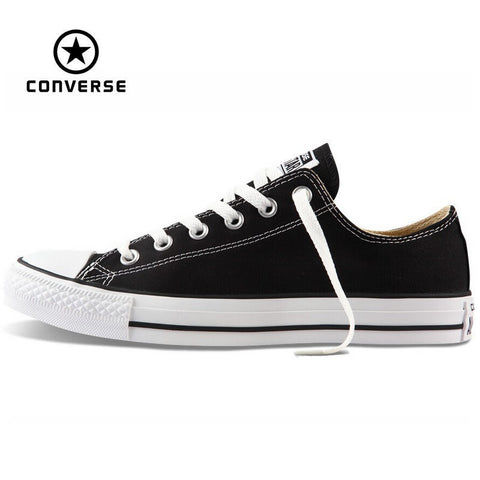 new Converse all star canvas shoes men's sneakers for men low classic