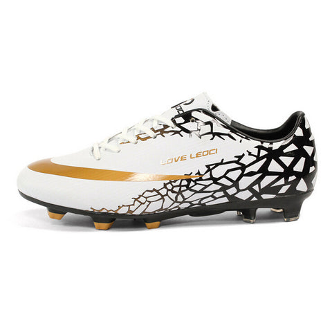 New design men Football Shoes Soccer Cleats kids boys training football boots s